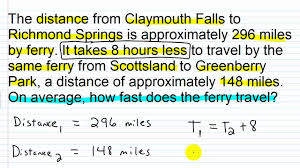 algebra 1 s of rational expressions the distance formula