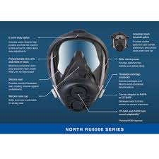 Honeywell Respirator Cartridge Chart Honeywell North Ru6500 Apr Kit
