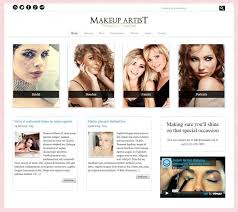 makeup artist websites templates 15 make up artists wordpress themes templates kas fresh