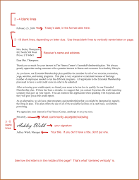 7 Formal Business Letter Spacing Financial Statement Form