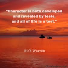 Christian Character Quotes Best Of Rick Warren Quote Character ChristianQuotes