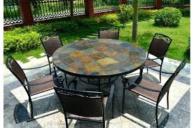 slate dining table round slate outdoor patio dining table stone round top slate outdoor stone patio dining table stone table outdoor furniture slate dining