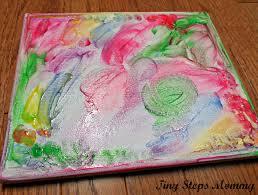 finger paint photo canvas 2