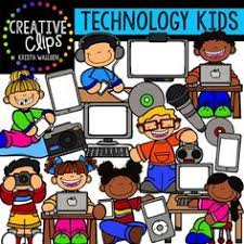 Image result for technology in classroom clipart