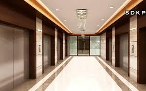 office lobby interior design. Brilliant Office LIFT LOBBY  Best Commercial Interior Design  On Office Lobby