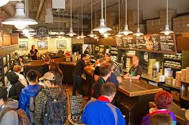 busy starbucks interior. Delighful Interior We Built The Espresso Bar Slightly Higher Than Rest Of Store So You  Can Watch Your Barista Craft Drink To Busy Starbucks Interior T