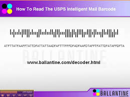 usps barcode format usps intelligent mail barcode video youtube
