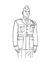 Army Soldier Coloring Page Coloring Pages For Kids And For Adults