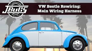 jbugs vw beetle rewiring main wiring harness jbugs vw beetle rewiring main wiring harness