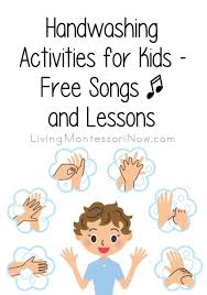 Help your kids learn to properly wash their hands using this printable sheet. Handwashing Activities For Kids Free Songs And Lessons