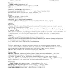 Simsbury High School Resume Template College Resume Template Download Student Pdf Sample Examples For 1