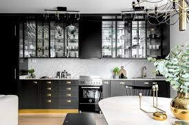 Black White Kitchen Interior Design