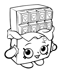 Shopkins Coloring Pages Cartoon Coloring Pages Shopkin Coloring