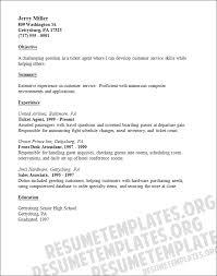 Impressive Airline Customer Service Agent Resume 660 x 838  32 kB .