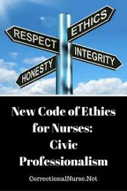 Professionalism In Nursing New Code Of Ethics For Nurses Civic Professionalism Correctional