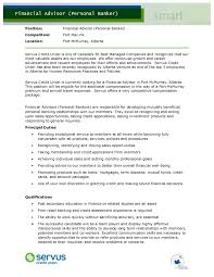 Personal Resume Personal Banker Resume Examples Professional Experience Personal 67