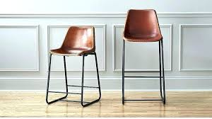 off white leather bar stools counter height leather bar stools west elm bar stools the roadhouse