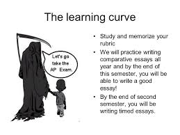 writing the comparative essay ppt video online  20 the learning curve study and memorize your rubric we will practice writing comparative essays