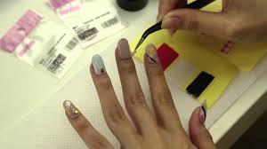 100均でそろう簡単にできるネイルシールの作り方と貼り方 Nail Art