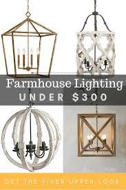 Fixer Upper Light Pendants Farmhouse Lighting Under 300 Maebells