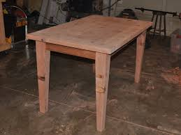 Easy Table Plans Make A Wooden Table That Is Easily Disassembled Make