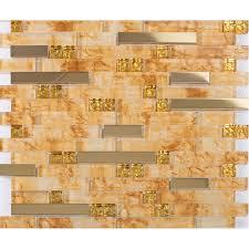 interlocking tile stainless steel kitchen backsplash tiles crystal glass meal tile designs bathroom wall backsplashes klgtg07