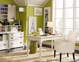 home office small space ideas. green white themed small home office ideas for homes with table and whie chair wall glass window minimalist interior house space