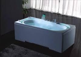 Waterfall Bathtub Hydrotherapy Massage Bathtub With Multicolored Led Waterfall B306