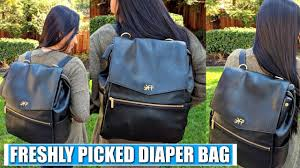 Fawn Design Canada Freshly Picked Diaper Bag Review
