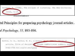 How To Cite A Quote From A Website Fascinating APA References Periodicals YouTube