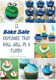 Cupcake Ideas For Bake Sale 12 Easy And Fun Bake Sale Cupcakes Cakes Pinterest Cupcakes