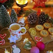 Merry Christmas White Mug Pink Gold ...