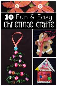26 Super Easy Christmas Crafts For Kids To Make  CraftRiverEasy To Make Christmas Crafts