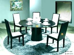 medium size of small round table dinette set circular dining for circle kitchen winning black