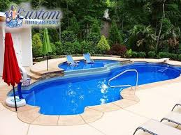 fiberglass pools with tanning ledge. Modren With Fiberglass Spa To Pools With Tanning Ledge E