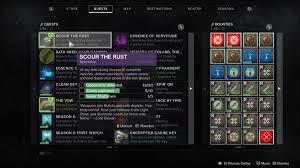 Destiny 2 Scour The Rust Iron Banner Quest Polygon