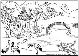 Small Picture Landscape Coloring Pages For Adults Coloring landscapes to