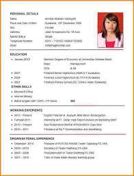 Sample Curriculum Vitae For Job Application Cv Curriculum Vitae Best Of Sample Curriculum Vitae Outline Exemple