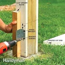 installing wood fence posts photo 7 install how to install wood fence posts installing wood fence