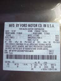 Ford Leaf Spring Code Chart Spring Code Ranger Forums The Ultimate Ford Ranger Resource