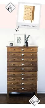 ikea hack tarva dresser diy. Relooker Meuble En Bois Frais Diy Ikea Tarva Hack Apothecary Westelm Anthropologie Furniture Dresser S