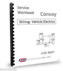 ldv 400 convoy en55 et70 2 5d amp 2 5di wiring diagram workshop ldv 400 convoy en55 et70 2 5d amp