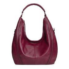 item 2 Large Hobo Handbags Leather WomenS Bag Piel Coach Vintage Slouchy  Purse, wine -Large Hobo Handbags Leather WomenS Bag Piel Coach Vintage  Slouchy ...