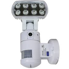 Nightwatcher Security Light Camera Nightwatcher Robotic Led Security Light Movement Tracking