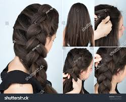 Hair Style With Volume hairstyle volume braid one side tutorial stock photo 512539681 8982 by stevesalt.us