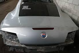 Rear Trunk Deck Lid Assembly Silver Wind Fisker Karma 2012