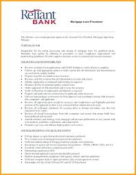 Assistant Loan Processor Sample Resume Beauteous Senior Mortgage Loan Processor Resume Sample For By Executive Writer