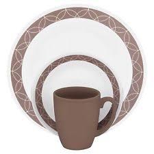 corelle dinner set ebay australia. corelle livingware sand sketch 32-piece dinnerware set dinner ebay australia e