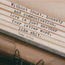 Another Four Letter Word Quotes Relationship Quotes Trust