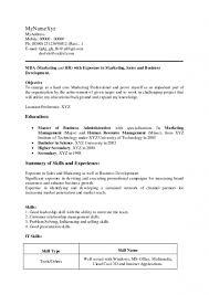 Resume Format For Hr Fresher It Resume Cover Letter Sample